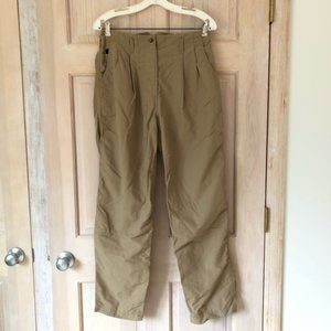 The North Face Hiking Outdoor Pants Tan Size 10